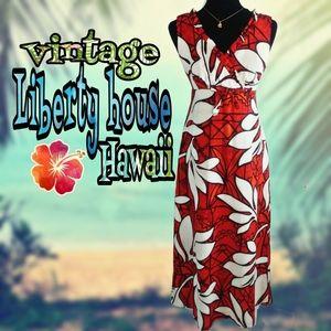 1960s/70's Liberty house Hawaii dress